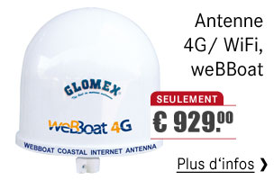 GLOMEX - Antenne 4G/ WiFi , weBBoat